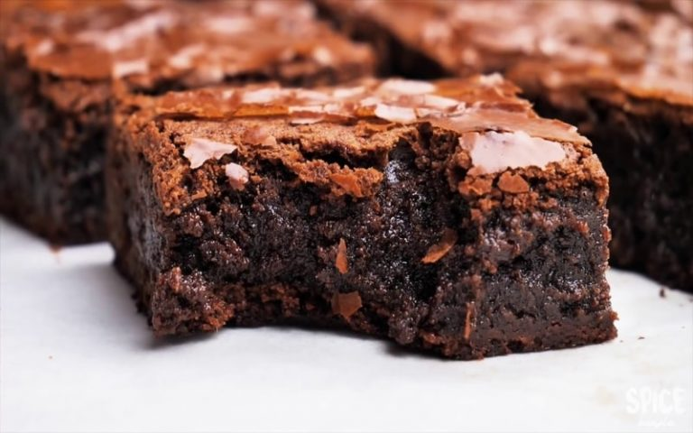 Delicious Brownies Cake