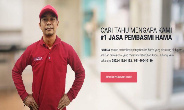 Fumida, Layanan Pest Control Terbaik di Indonesia